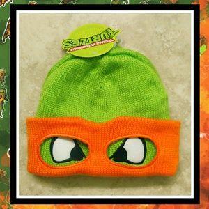 NWT BIOWORLD TMNT Ninja Turtle Mask Beanie